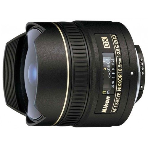 Ремонт объективов Nikon 10.5mm f/2.8G ED DX Fisheye-Nikkor