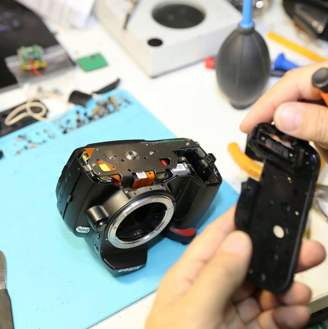время она ремонт фотоаппаратов никон в москве место