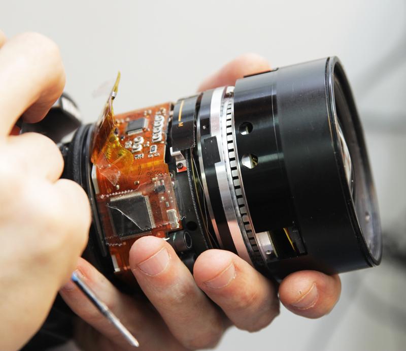 Проф фотоаппарат с цветопередачей краски