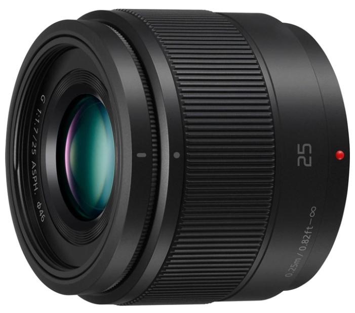 Ремонт объективов Panasonic 25mm f/1.7 G Aspherical (H-H025)