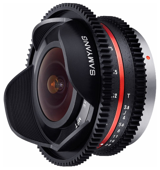 Ремонт объективов Samyang 7.5mm T3.8 Fisheye VDSLR