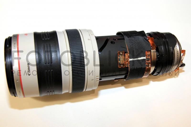 Ремонт объектива Canon EF 28-300mm