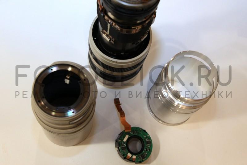 Объектив Canon 28-300mm в разборе